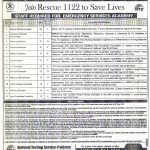 Rescue 1122 NTS Jobs 2020 Application form Roll No Slip