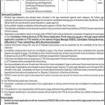 FESCO SDO & RO CTS Jobs 2020 Application Form Roll No Slip