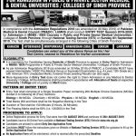 Liaquat University of Medical & Health Science LUMHS 2020 NTS Entry Test Preparation online