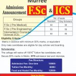 Nishat Residential College Murree NTS Admission 2020 Application Form Roll No Slip