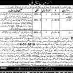 Punjab Labor Court Lahore NTS Jobs 2020 Application Form Roll No Slip