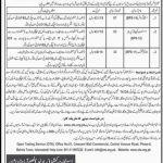 OTS Commissioner Office Naseerabad Jobs 2020 Application Form