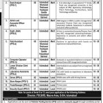 Ministry of Food Security & Research Jobs 2020 PTS Application Form Roll No Slip