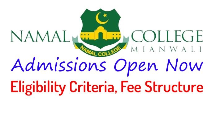 Namal Collage Mianwali Entry Test 2021 NTS Apply Online Roll No Slip Merit List